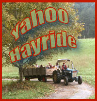 Enjoy the exciting Yahoo Hayride.